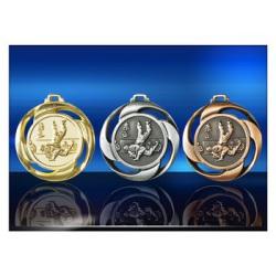 Médailles gravées Judo 40 mm