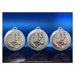 Médailles gravées Judo Série NL 50 mm