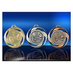 Médailles gravées karaté