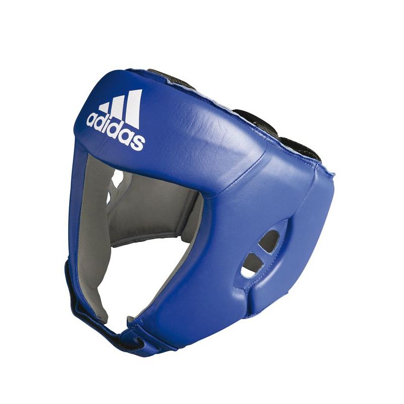 Casque de boxe anglaise bleu