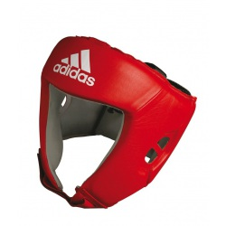 Casque de boxe anglaise rouge