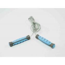 Corde à sauter cable acier