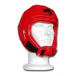 Casque FFKARATE PU Rouge