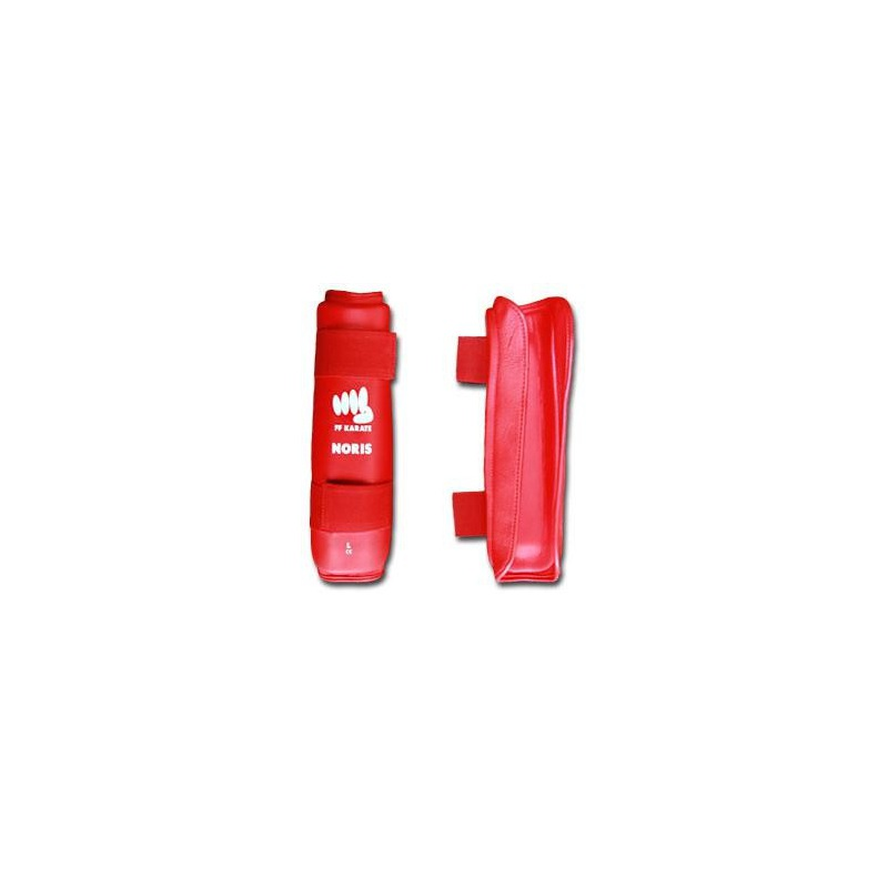 Protection Tibias Rouges
