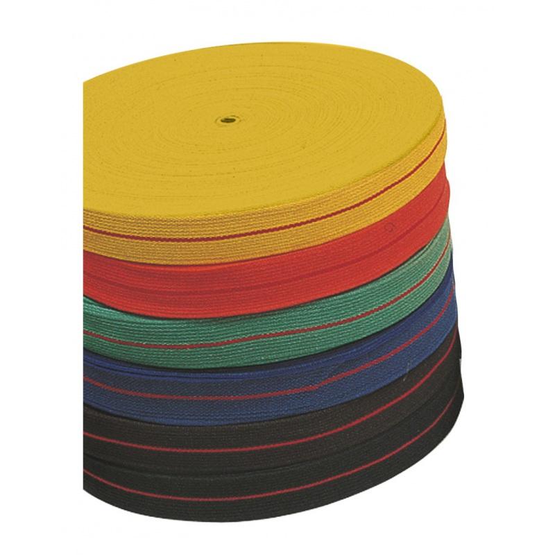 Rouleaux Ceintures Karaté couleurs 1 bande