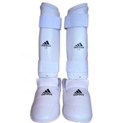 Protège Tibias Pieds Blancs Adidas